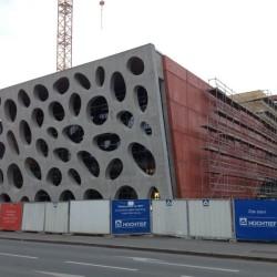 fasáda betonovaná bez pracovních spár