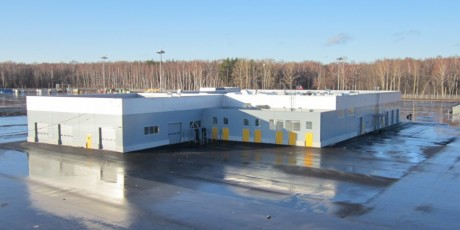 Logistický automobilový komplex GEFCO