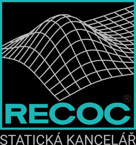 Barevné logo na černém pozadí