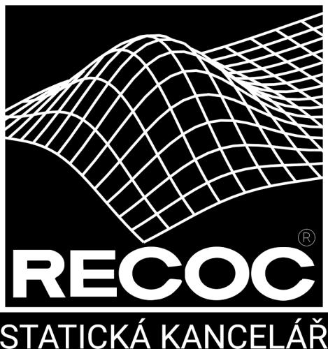 Bílé logo na černém pozadí