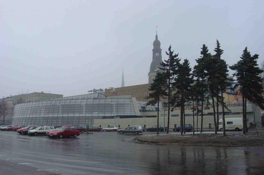 Multifunctional center Triangula Bastion Riga