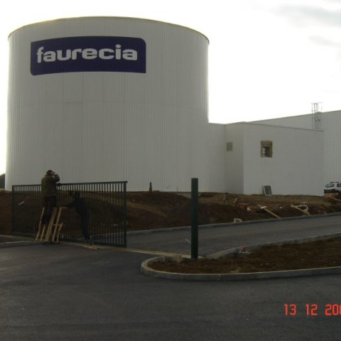 New Faurecia Factory Písek