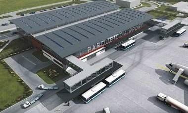 Terminál letiště Pardubice