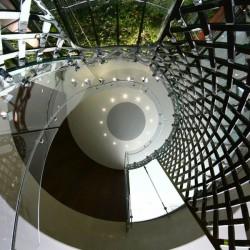 Vstupní schodiště společnosti Matějovský